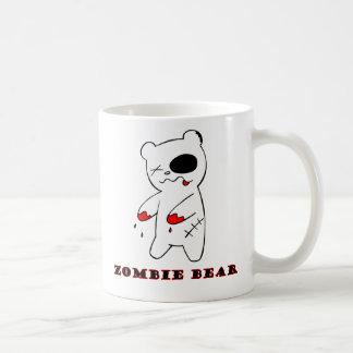 現行犯でパンクのゾンビくま コーヒーマグカップ