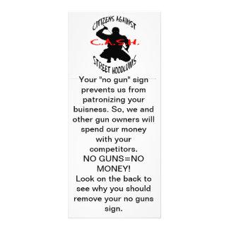 """現金ロゴは、あなたの""""銃""""の印私達をf…防ぎません ラックカード"""