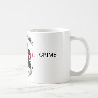 現金ロゴ、レポート、罪 コーヒーマグカップ