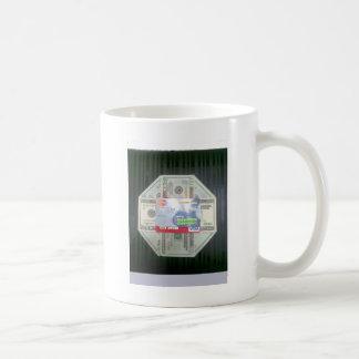 現金及び信用 コーヒーマグカップ
