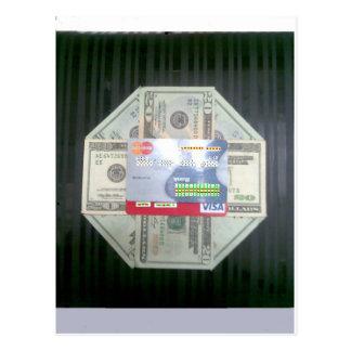 現金及び信用 ポストカード