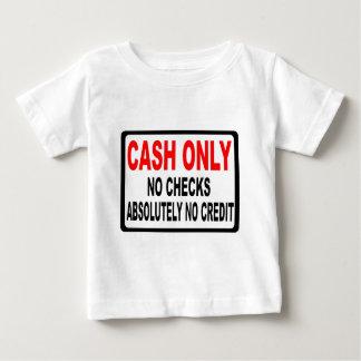 現金点検の印無し ベビーTシャツ