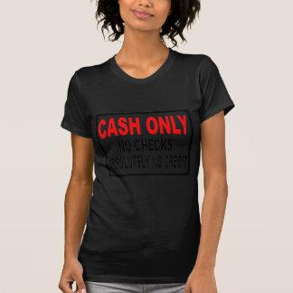 現金点検の印無し Tシャツ