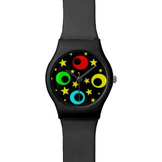 球および星 腕時計