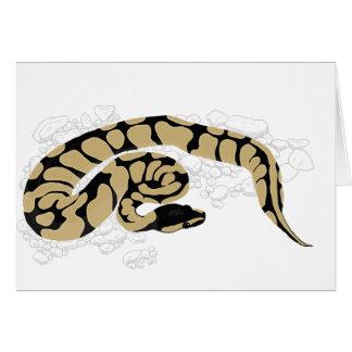球の大蛇のヘビ カード