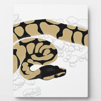 球の大蛇のヘビ フォトプラーク