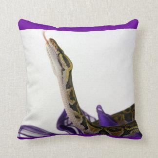 球の大蛇の枕 クッション