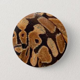 球の大蛇ボタンのバッジ 缶バッジ