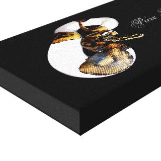 球の大蛇- Pibald キャンバスプリント