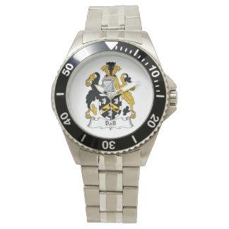球の家紋 腕時計