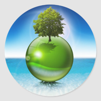 球の木-生態学の概念 ラウンドシール