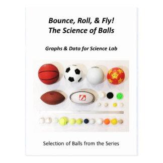 球の郵便はがきの科学 ポストカード