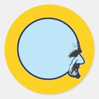 球の頭部 ラウンドシール