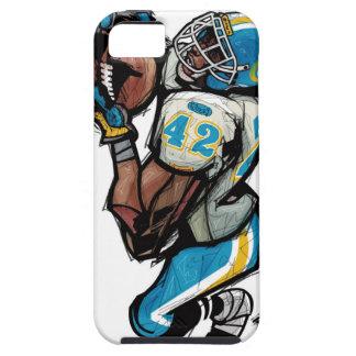 球を握っているアメリカン・フットボールプレーヤー iPhone SE/5/5s ケース