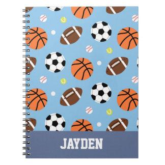 球パターンはジャーナルを遊ばします ノートブック