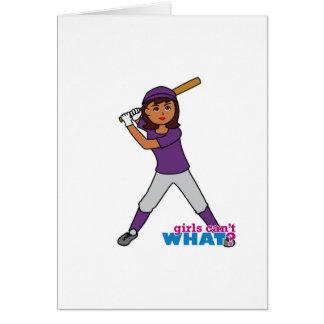 球プレーヤー-紫色のユニフォーム カード