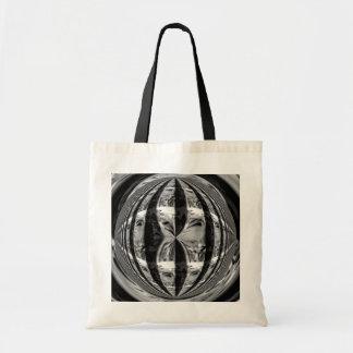 球体のクロム黒の予算のトートバック トートバッグ