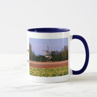 球根分野の風車 マグカップ