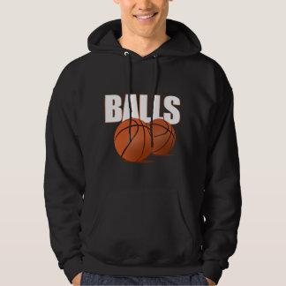球-バスケットボール(暗い) パーカ