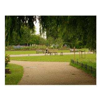 理事の公園、ロンドンの郵便はがき ポストカード