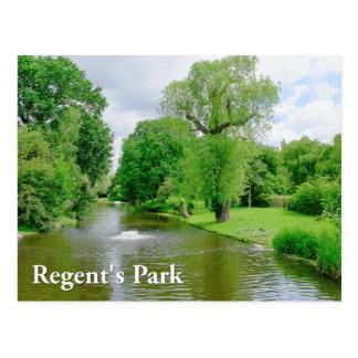 理事の公園、ロンドンイギリス ポストカード