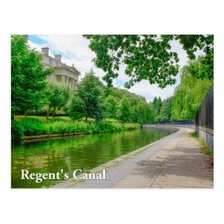 理事の運河、ロンドンの郵便はがき ポストカード
