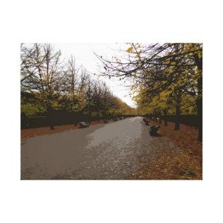 理事公園の秋 キャンバスプリント
