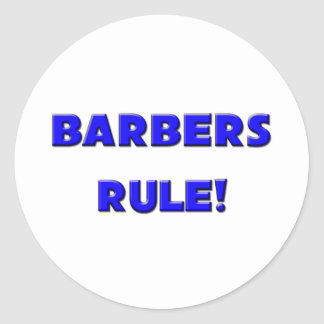 理容師の規則! ラウンドシール