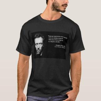 理性的な議論及び宗教人々 Tシャツ