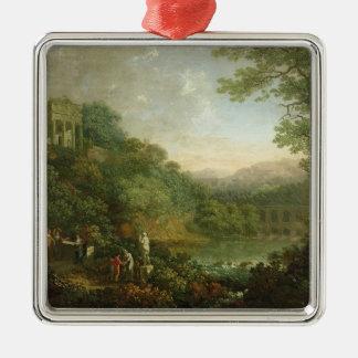 理想的な景色1776年 メタルオーナメント
