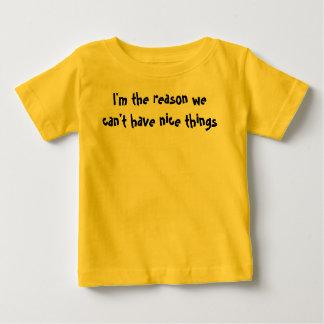 理由の子供のワイシャツ ベビーTシャツ