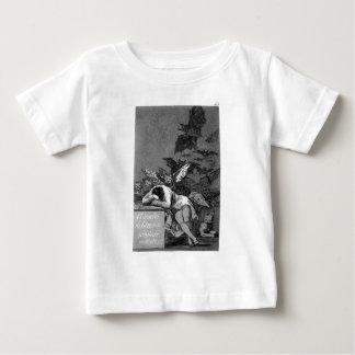 理由の睡眠はフランシスコによってモンスターを作り出します ベビーTシャツ
