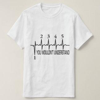 理解しません Tシャツ
