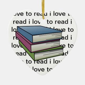 理解のための読書 セラミックオーナメント