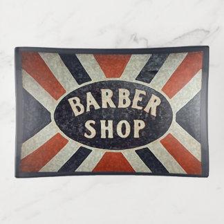 理髪店の印の先端の皿5 トリンケットトレー