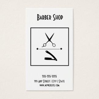 理髪店の名刺 名刺