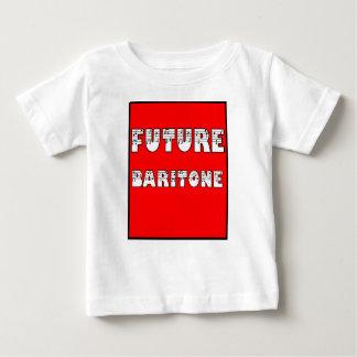 理髪店の子供-未来のバリトン歌手 ベビーTシャツ