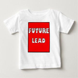 理髪店の子供-未来の鉛 ベビーTシャツ