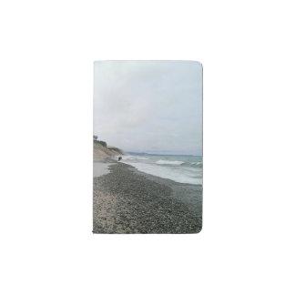 瑪瑙のビーチ2 ポケットMoleskineノートブック