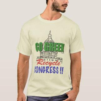 環境にやさしいことをしようのリサイクル議会のTシャツ Tシャツ