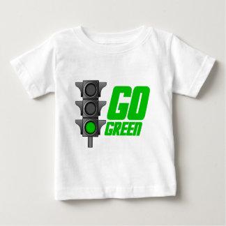 環境にやさしいことをしようライト ベビーTシャツ