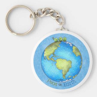 環境にやさしいことをしよう! -地球のkeychainの平和 キーホルダー