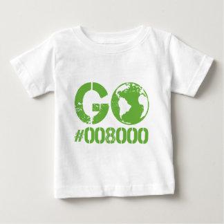 環境にやさしいことをしようRGBのデザイン ベビーTシャツ