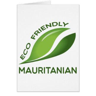 環境にやさしいモーリタニア カード