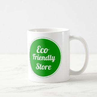 環境にやさしい店のマグ コーヒーマグカップ