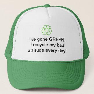 環境のリサイクルの帽子 キャップ