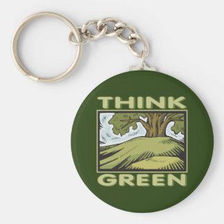 環境を考えるのオークの木 キーホルダー
