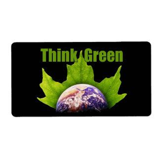 環境を考えるのラベル ラベル