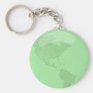 環境を考えるの地球 キーホルダー
