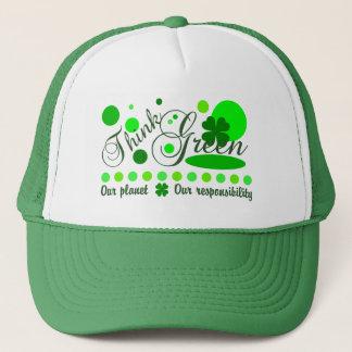 環境を考えるの帽子 キャップ